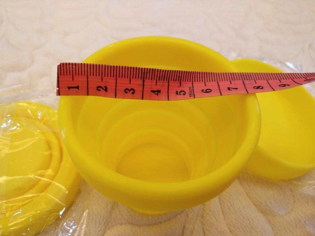 (全新) 可摺疊杯方便帶出街使用