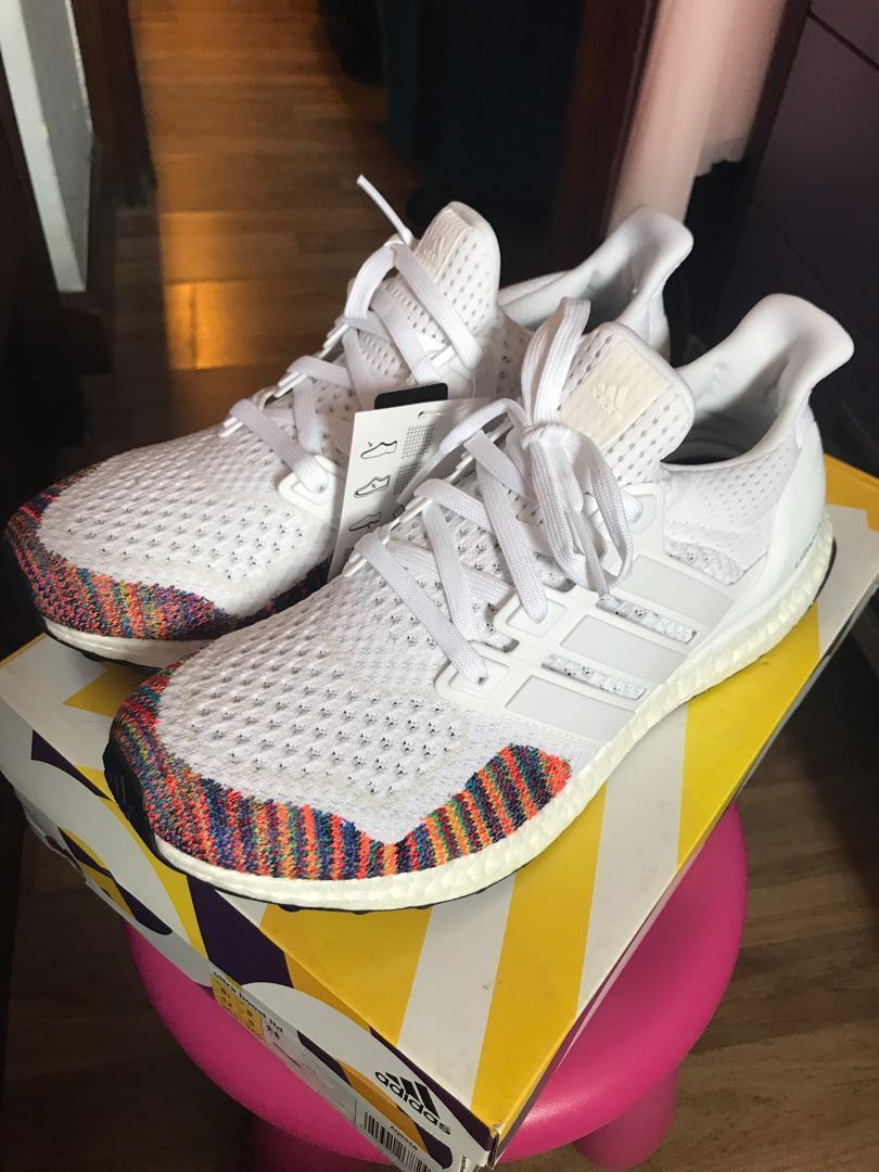 Adidas Ultra Boost LTD Legacy Pack(White), Men's Fashion
