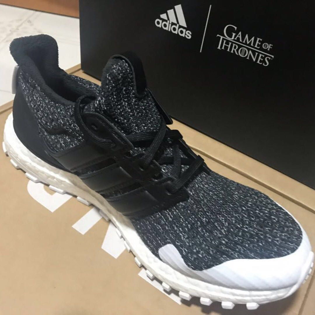 f7b76dcfc ADIDAS ULTRA BOOST X GAME OF THRONES CORE BLACK   WHITE (NIGHT S ...