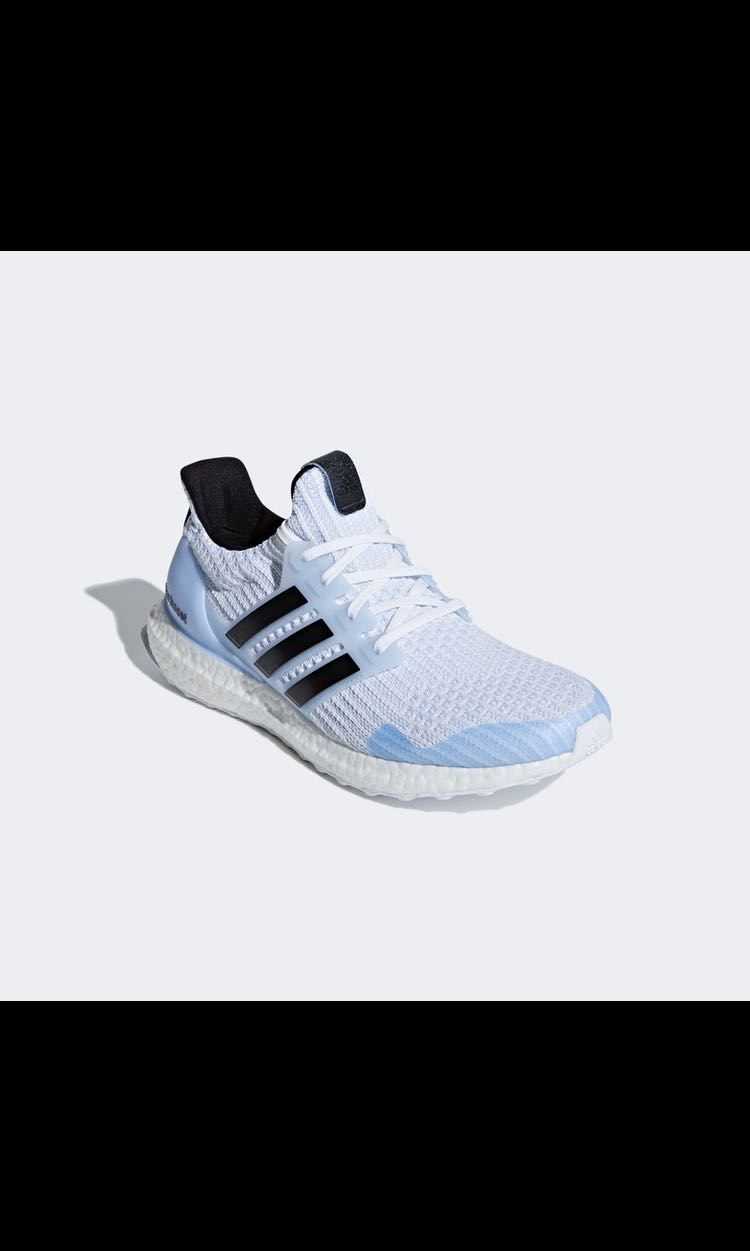 b7e34abff86 Adidas Ultraboost x Game of Thrones White Walkers Edition
