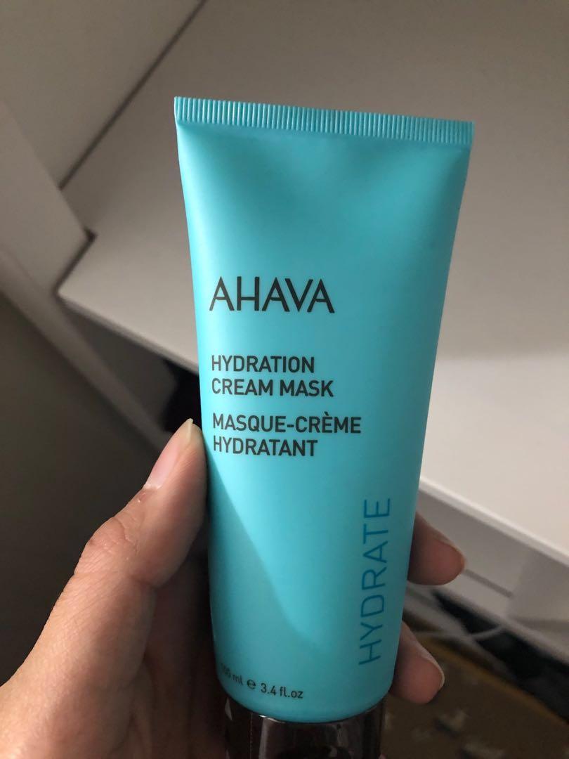 Ahava Hydration face cream mask