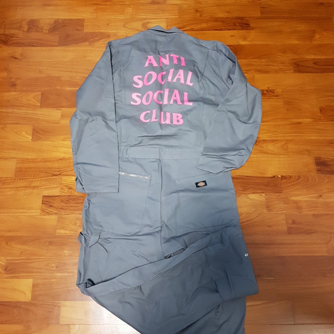 0d289fa7dbc8 Anti social social club assc flight suit dickies