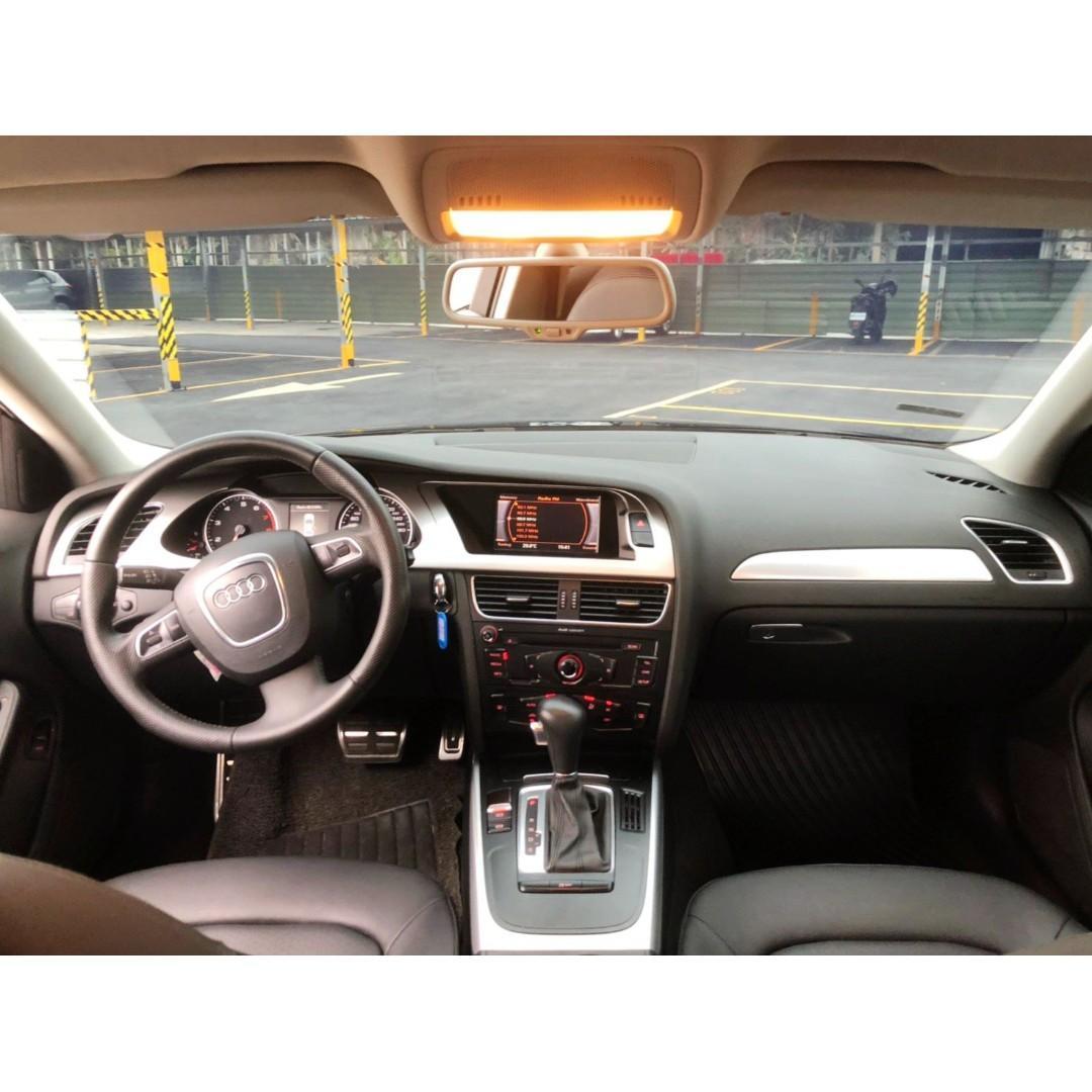 Audi  B8  A4  1.8L '11 黑