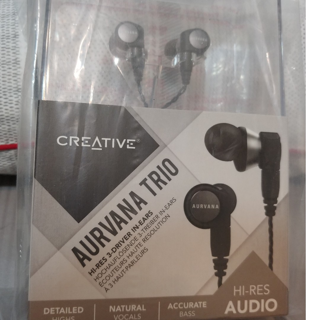ef6eaaf52a1 Aurvana Trio with Hybrid Triple-Driver System Audiophile In-Ear ...