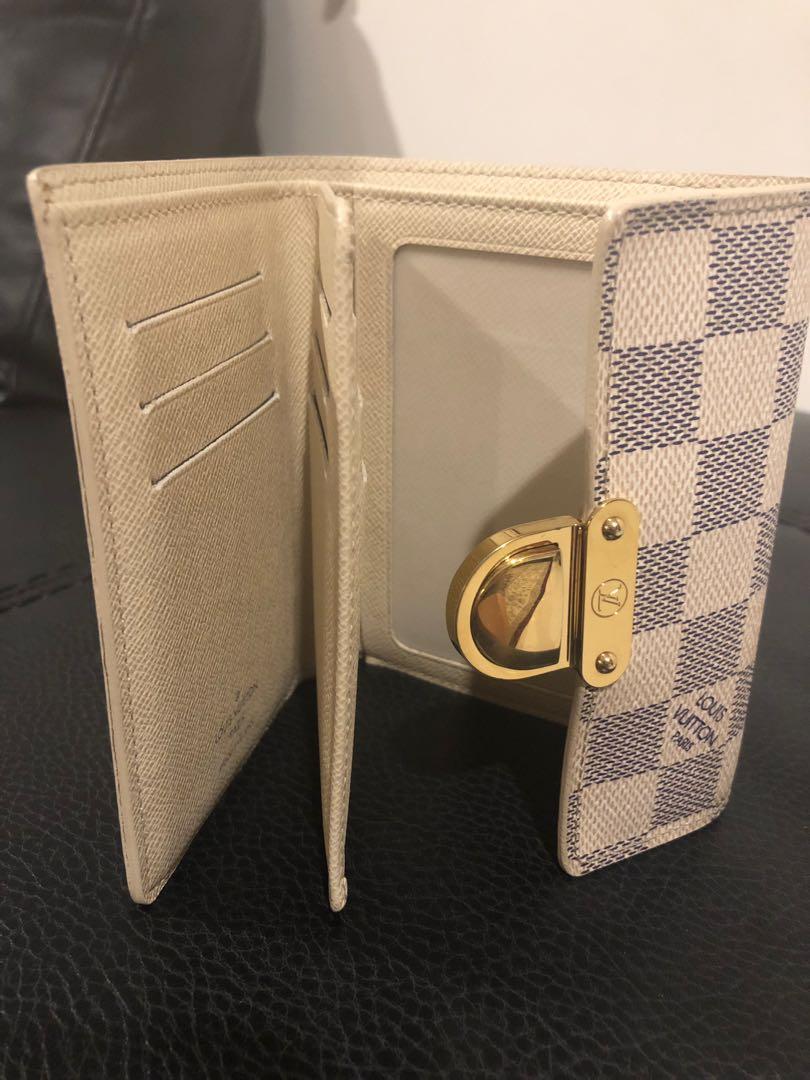Authentic Louis Vuitton Damier Azur Speedy 25 & Portefeuille Koala Wallet