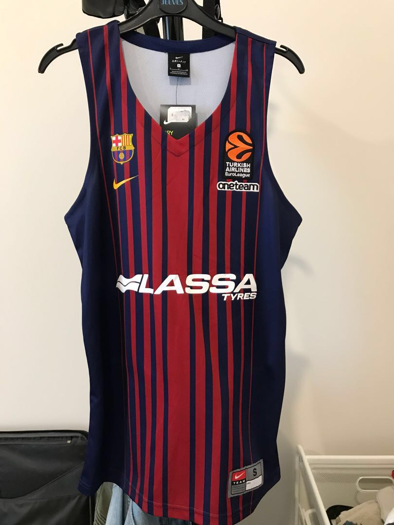 new york a3d0a bf58b Barcelona Basketball Jersey