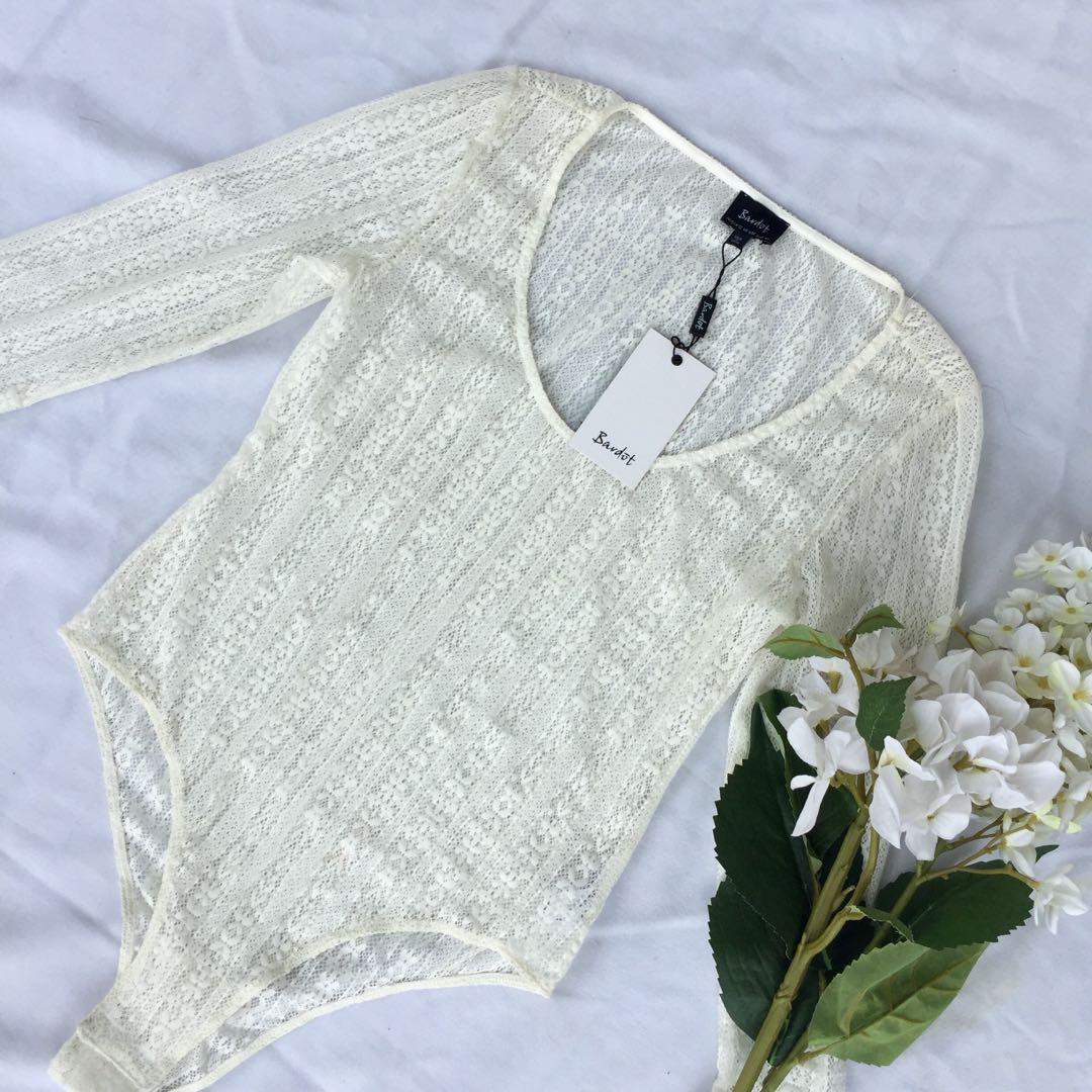 Bardot • Lace Bodysuit