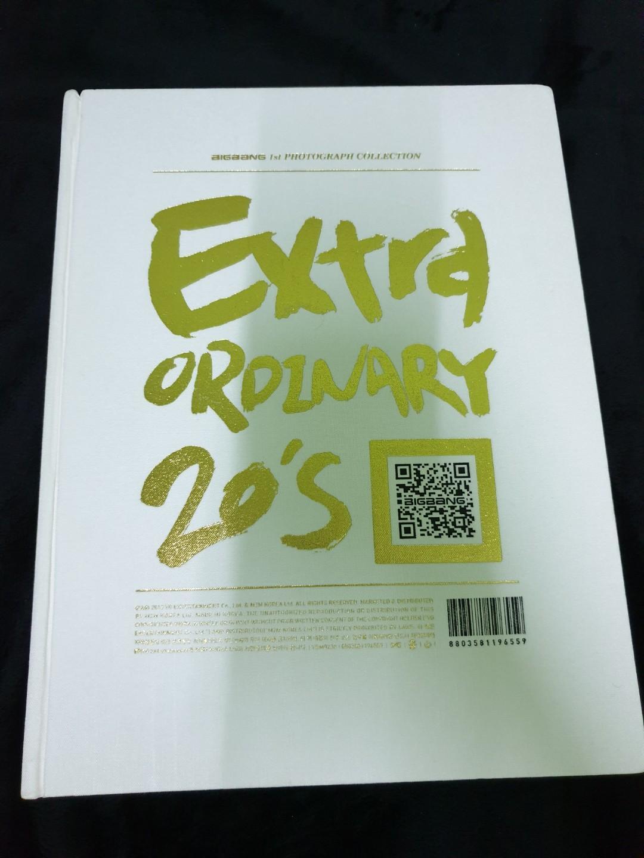 BIGBANG 1st Photograph Collection Extra Ordinary 20's