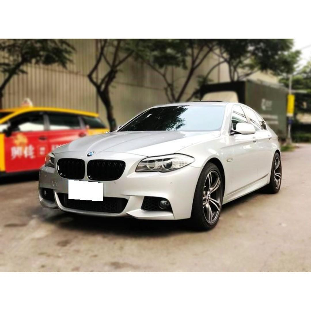 BMW  F10  523i  2.5L  '10  銀
