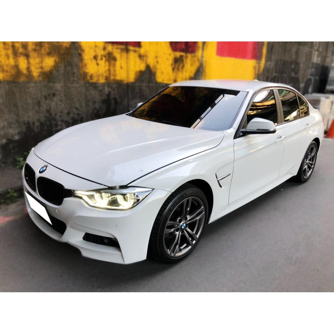 BMW  F30  318i  1.5L  '15  白