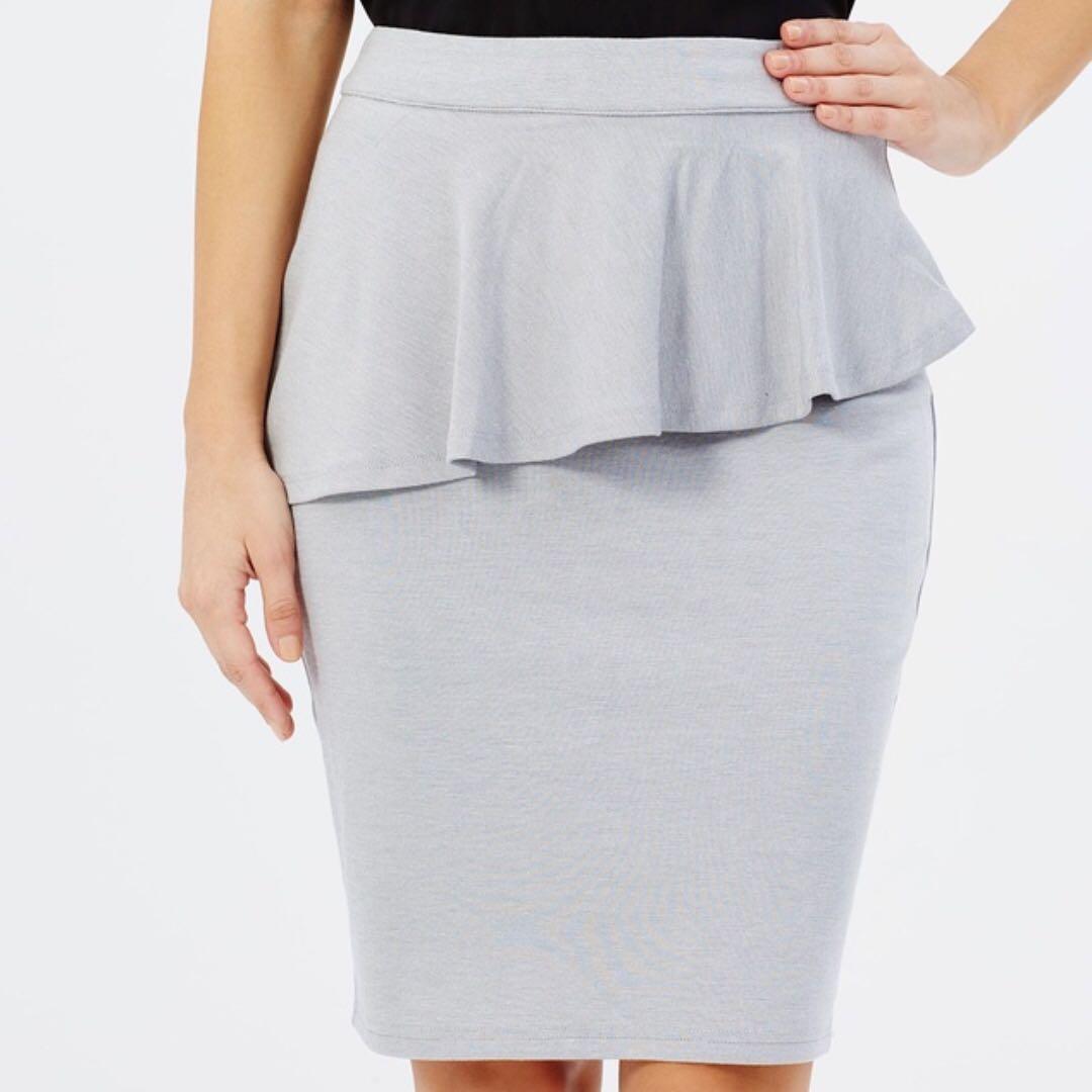 Brand New Atmos & Here Grey Pencil Skirt