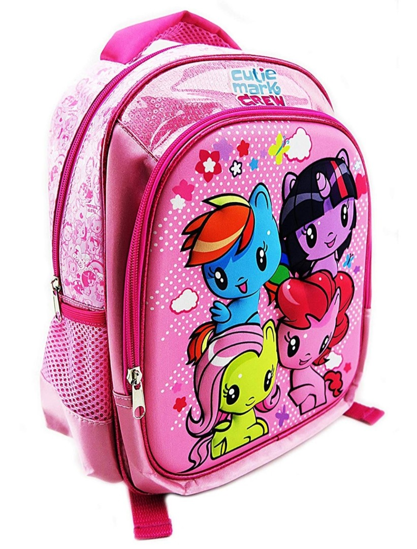 *Brand New* My Little Pony Cutie Mark Crew 3D Backpack, 13
