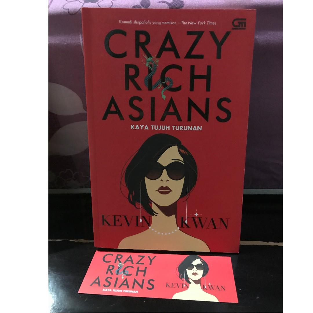 Crazy Rich Asians Kevin Kwan Novel Terjemahan Ori Gramedia