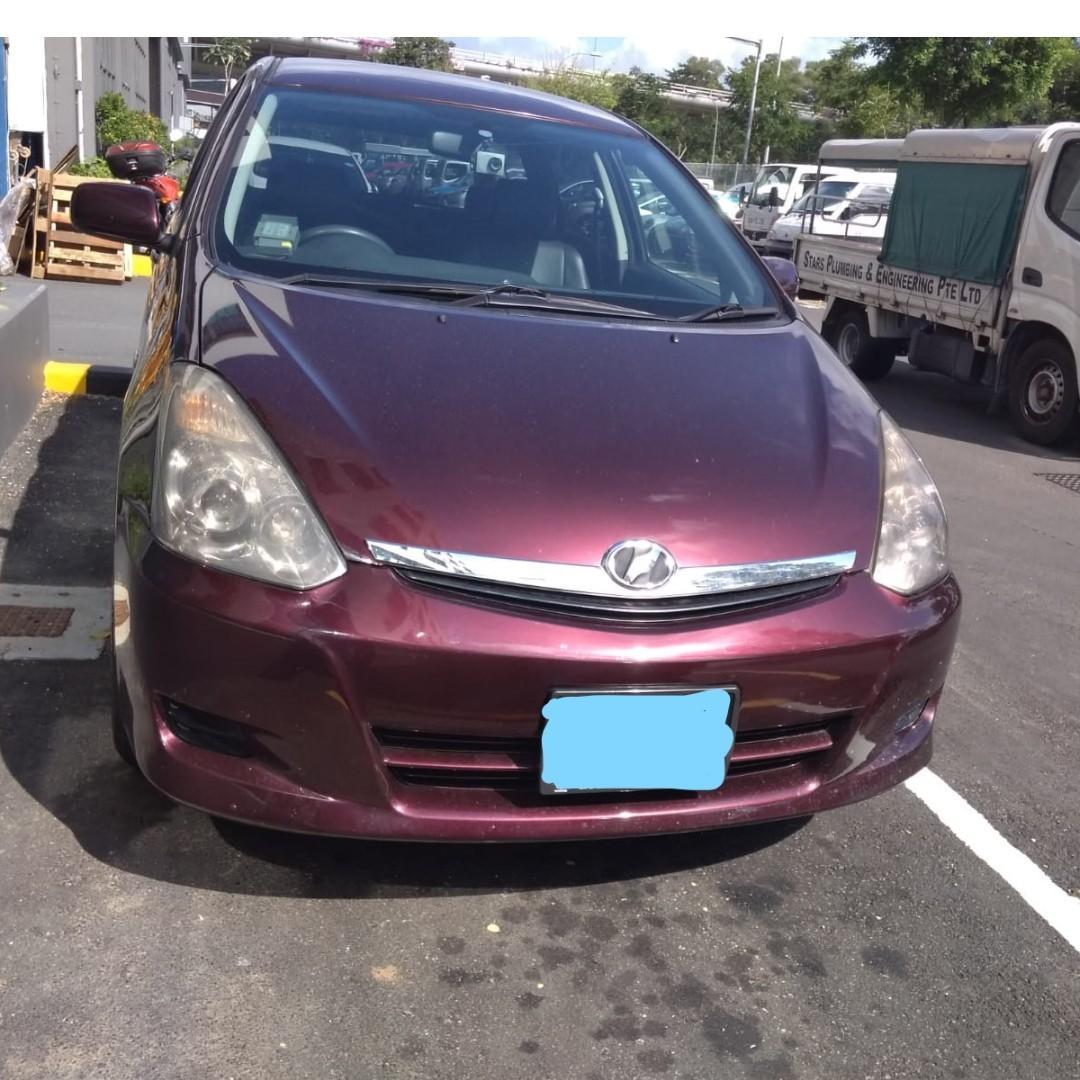 Weekly Toyota Wish ( Personal-Grab-Gojek )