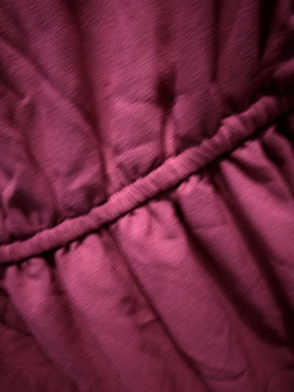 Dress lengan panjang pink fanta