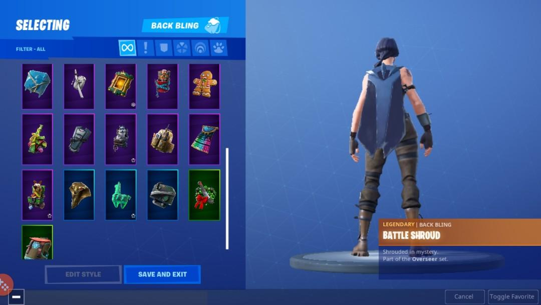 Fortnite Account, Toys & Games, Video Gaming, Video Games on