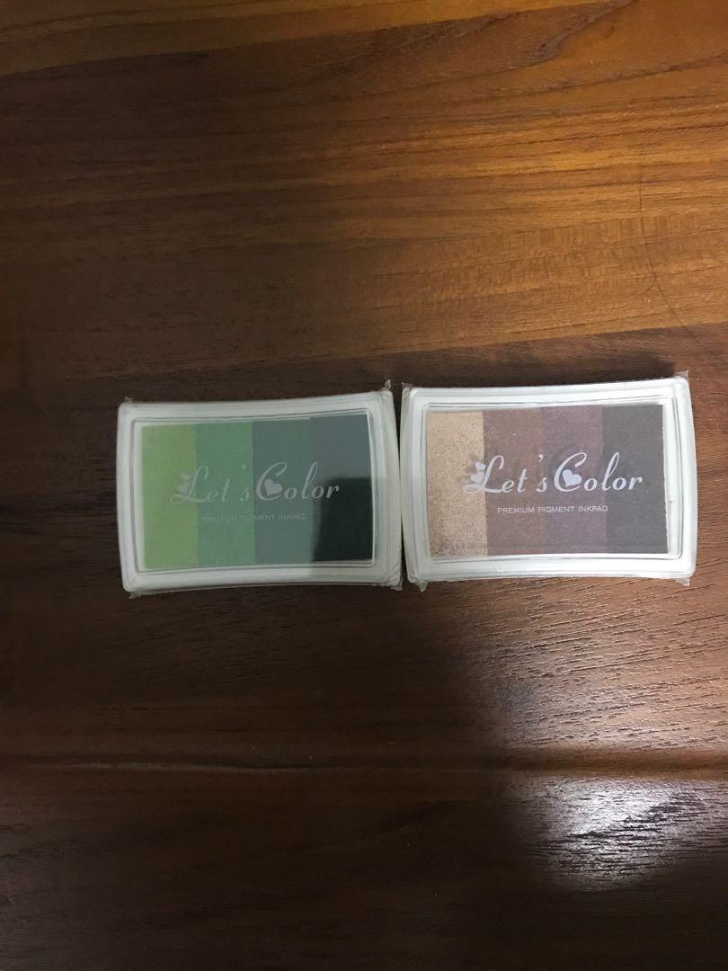 Gradient Ink Stamp Pad