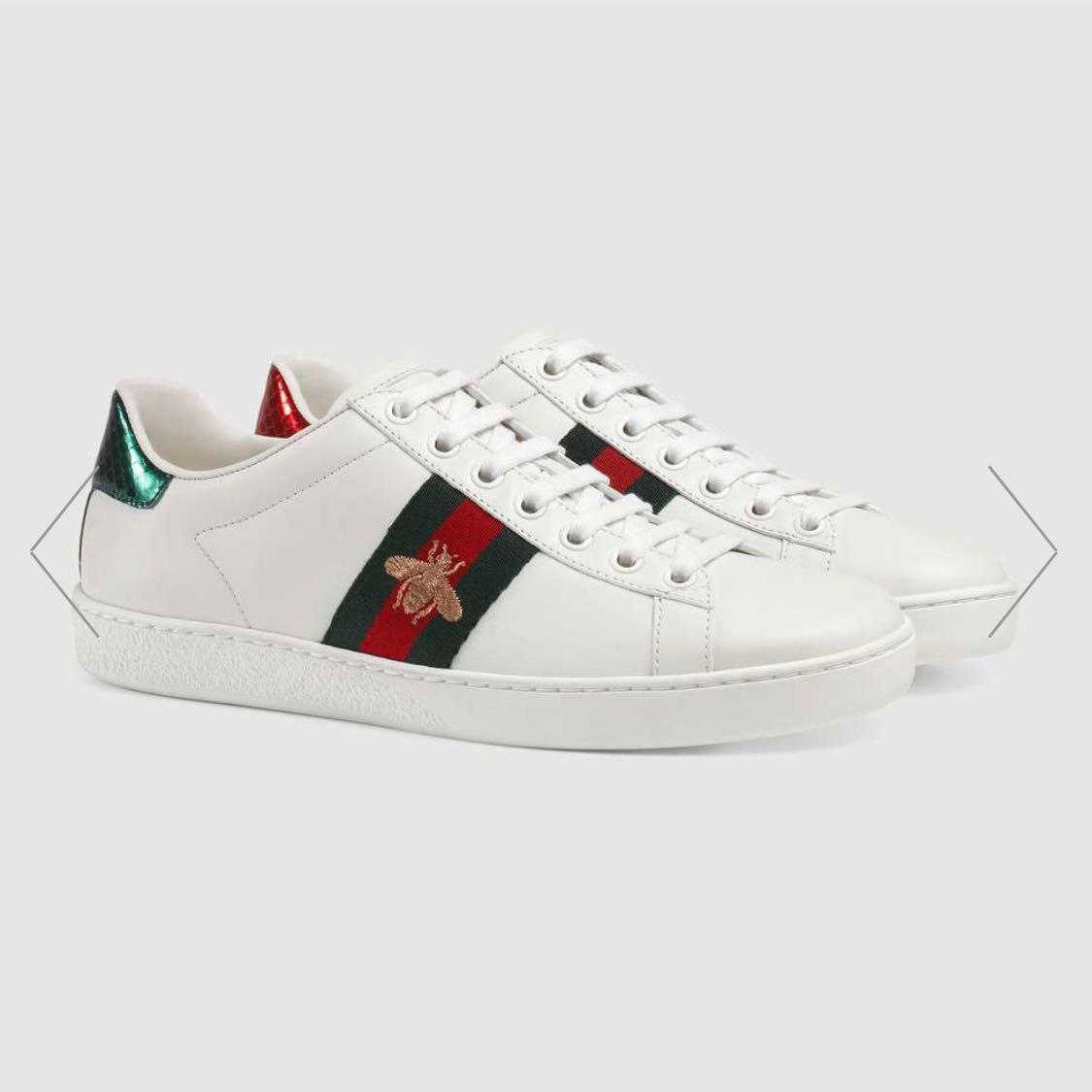 21e8ed66b7e Gucci Ace Embroidered Sneakers (EU 36.5)