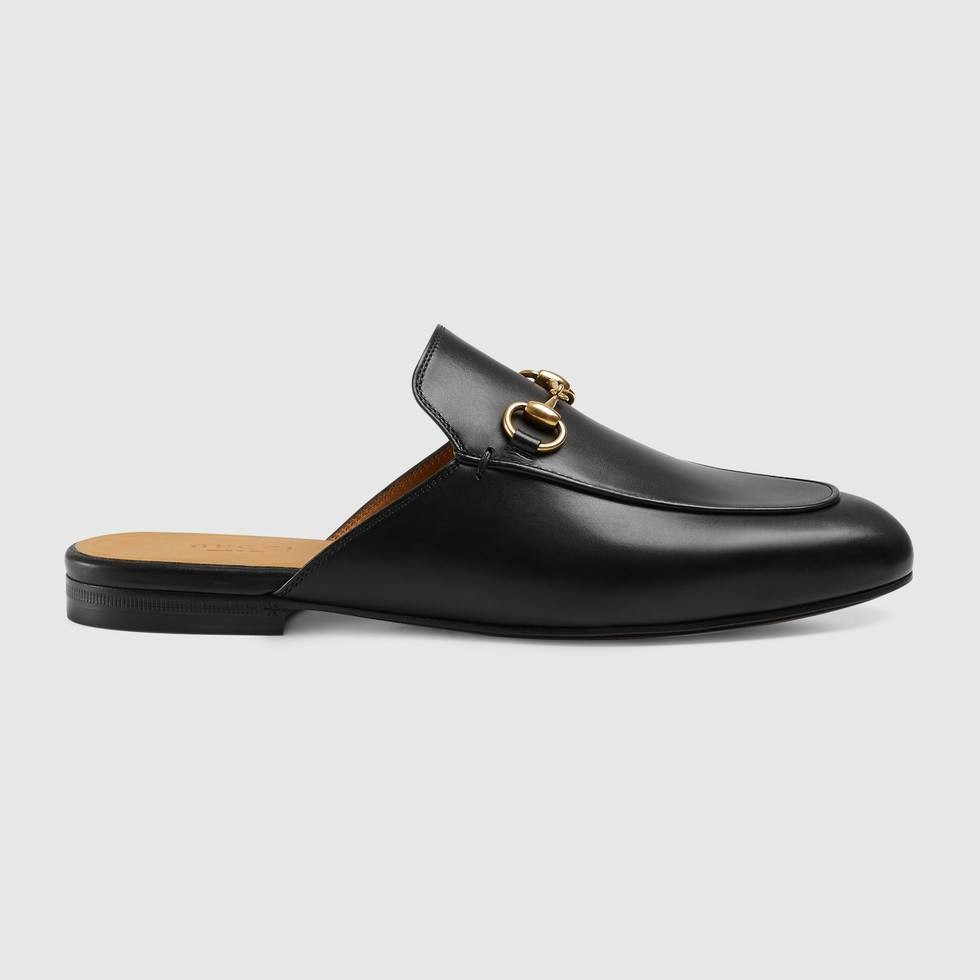 2f4184279ae Gucci Princetown Leather Slipper (Authentic)