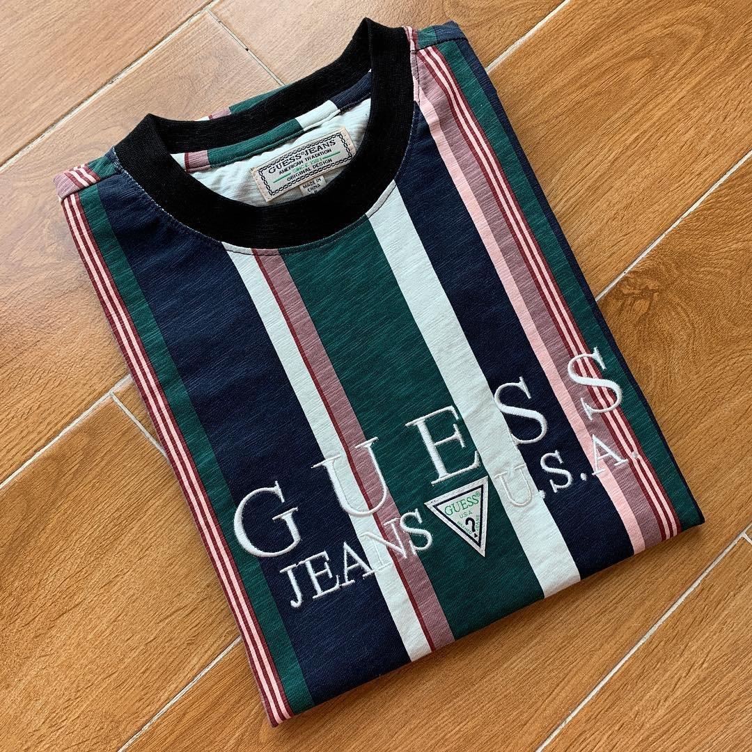 3b93e9adfcb3 Guess Jeans Striped Shirts - Nils Stucki Kieferorthopäde