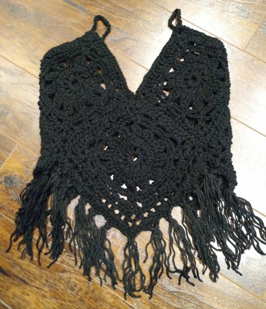 Handmade Boho Crochet Tops