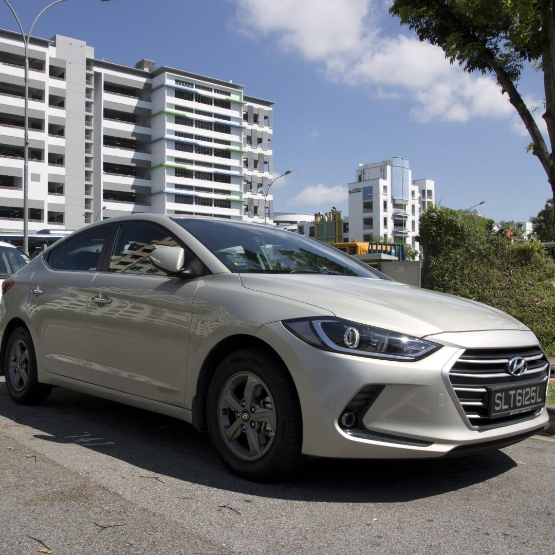 Hyundia Elantra S - New Face lift