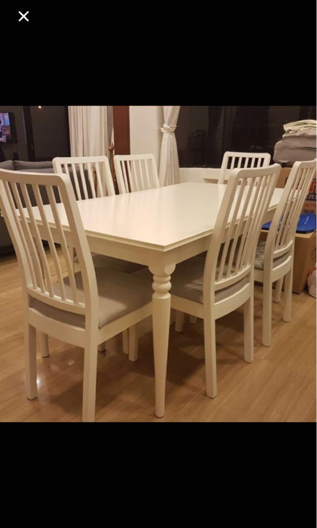 Ikea Dining Table 6 Seater Off 54, Ikea Dining Room
