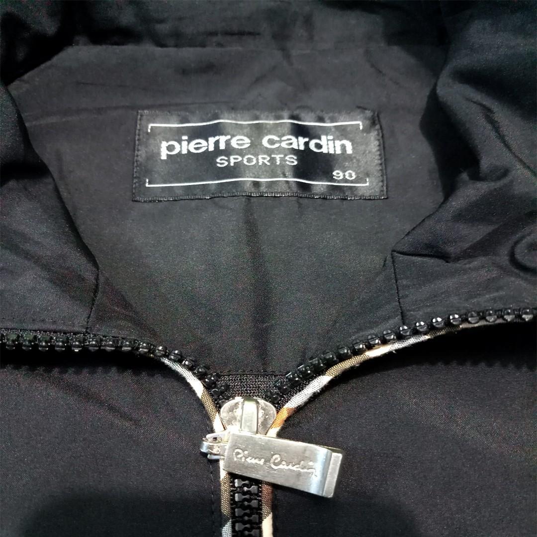 jaket bekas second original pierre cardin hitam 007