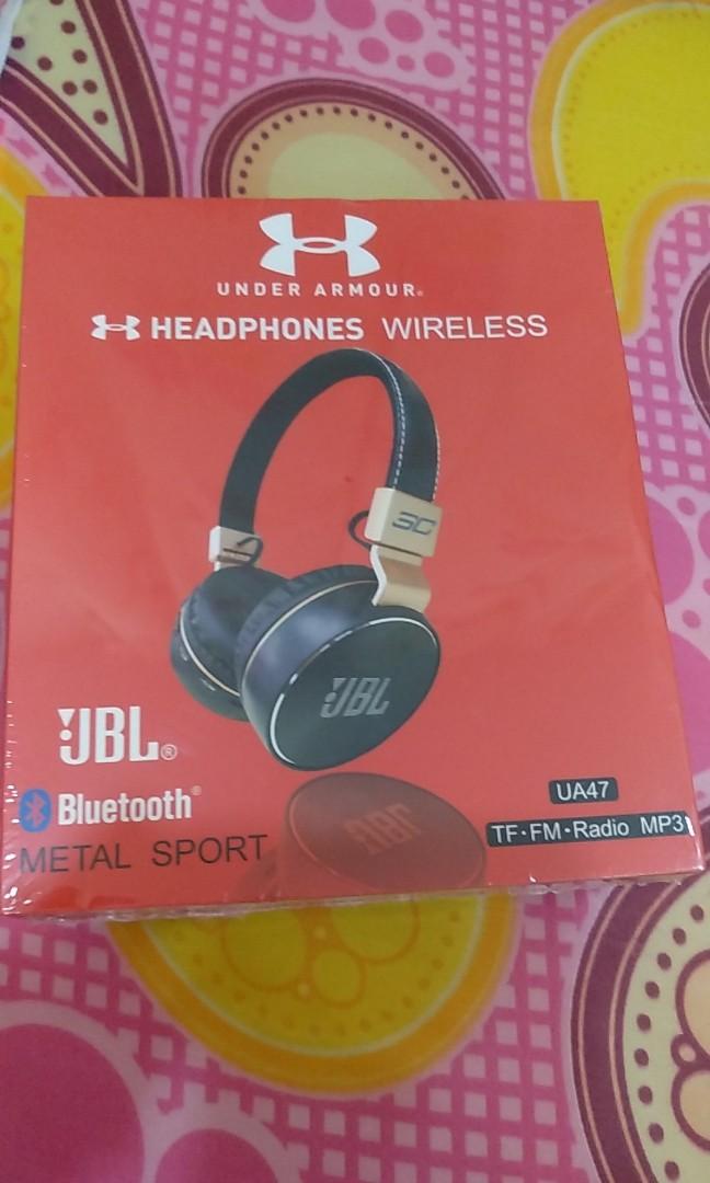 1a09a810076 JBL UA47 Bluetooth wireless earphone(Red), Electronics, Audio on ...