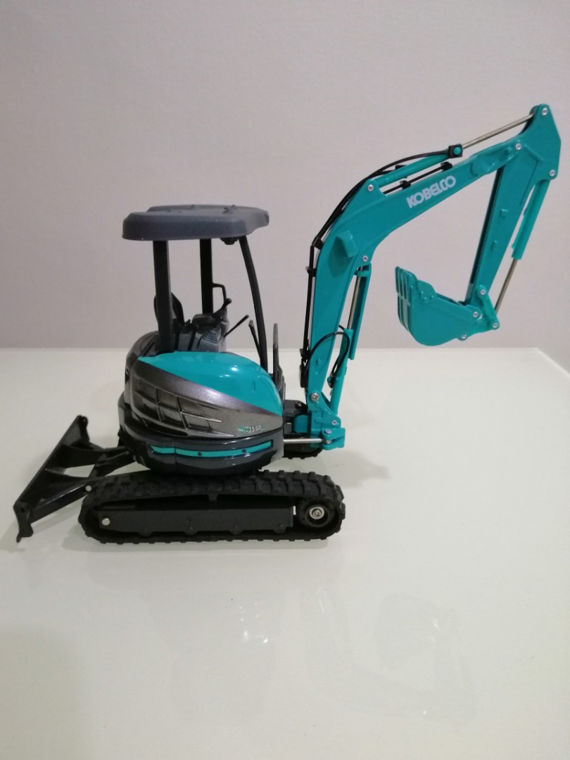 Kobelco Mini Excavator Die-cast Model