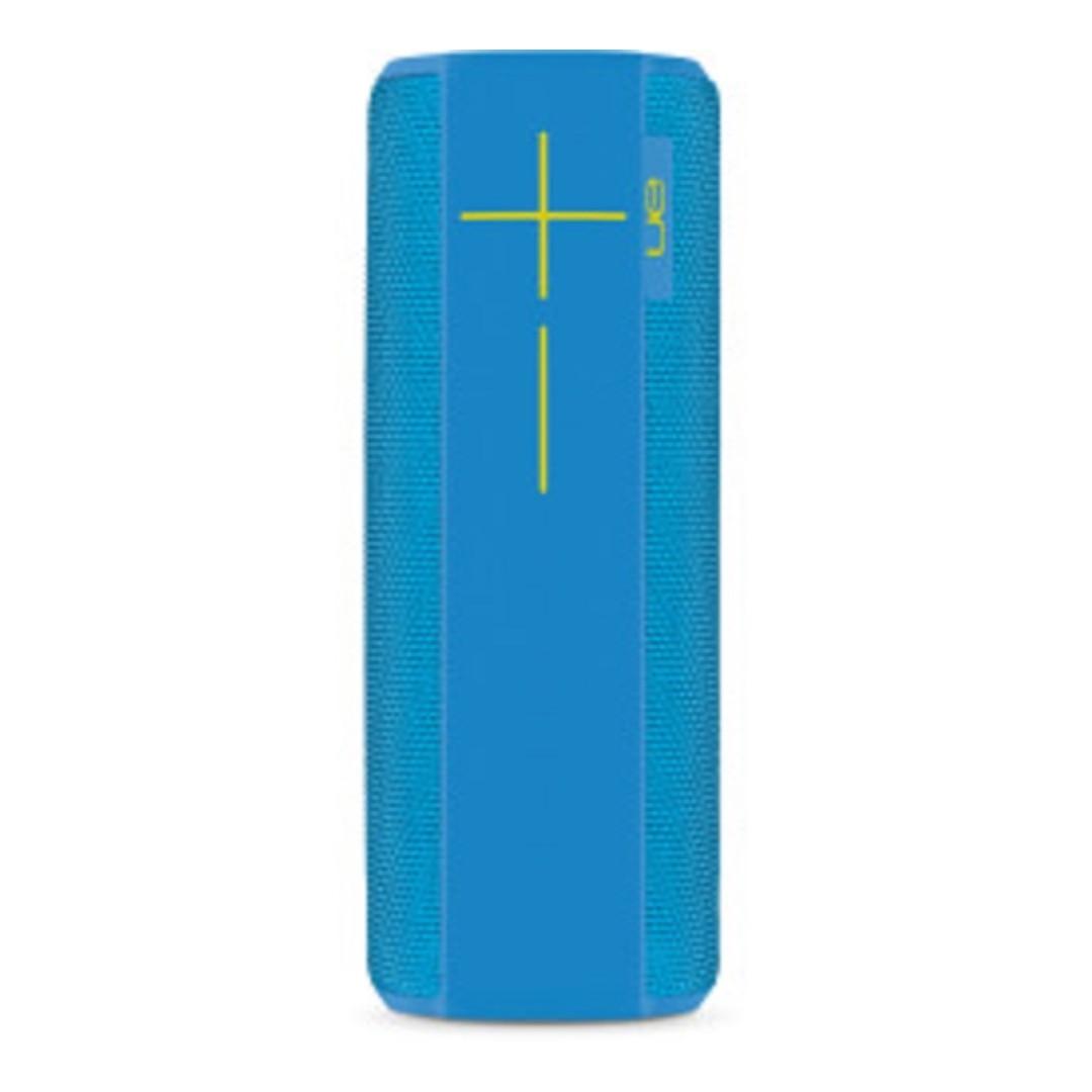 (Local warranty)Ultimate Ears MEGABOOM Custom Wavvy Blue Wireless Mobile  Bluetooth Speaker Waterproof and Shockproof