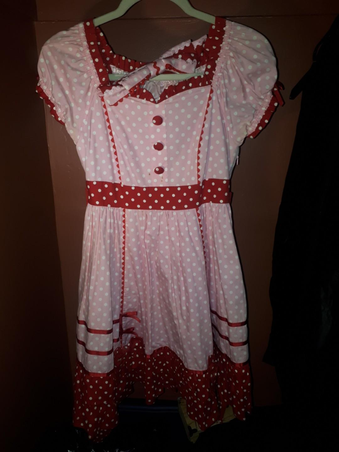 Lolita Angelic Pretty Candy Pop Polka Dot One Piece