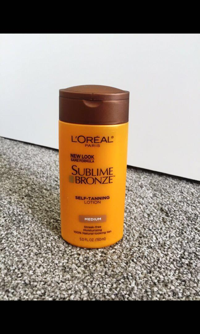 Loreal Paris Sublime Bronze Self-Tanning Lotion (Medium)