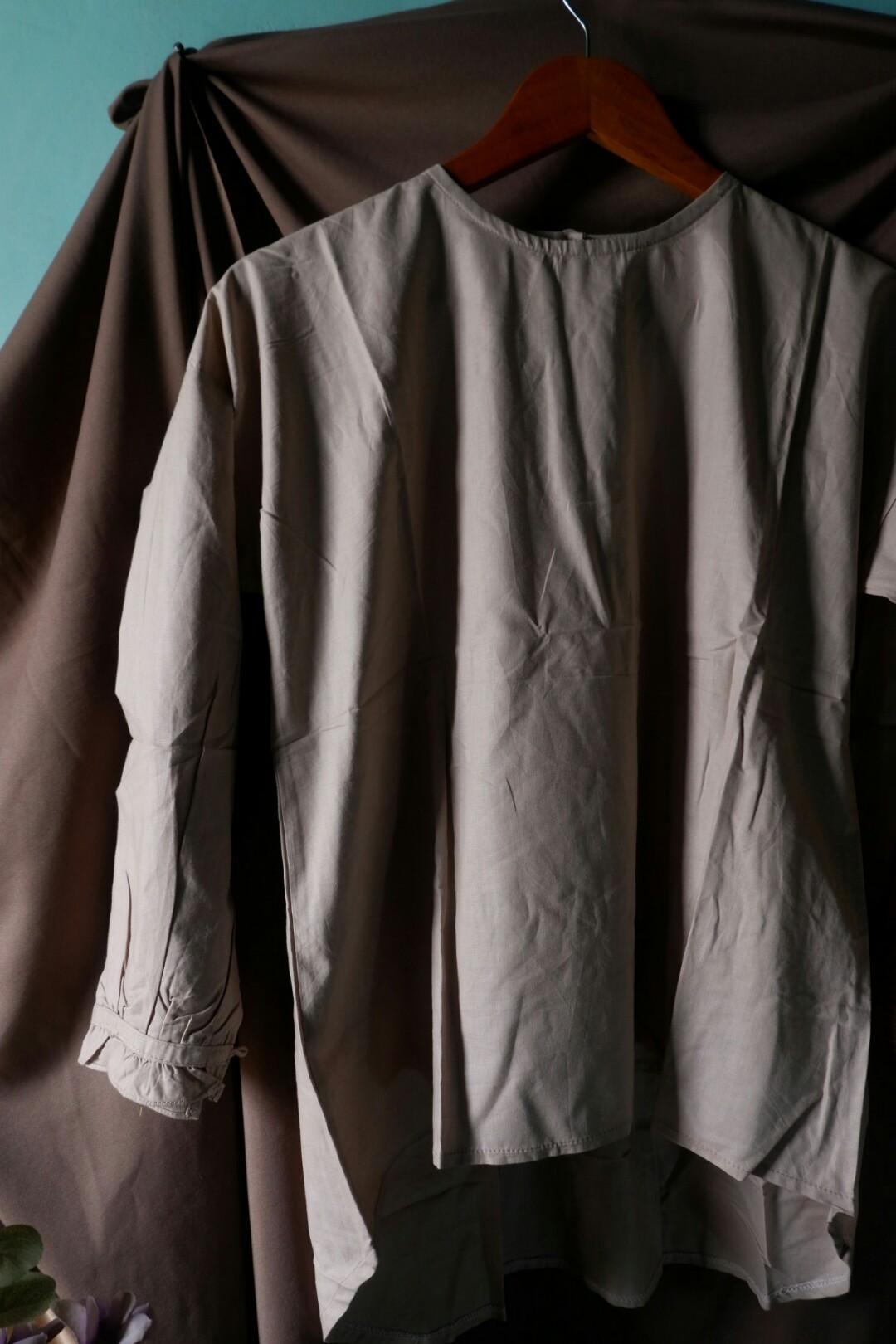 Luxy plain khaki