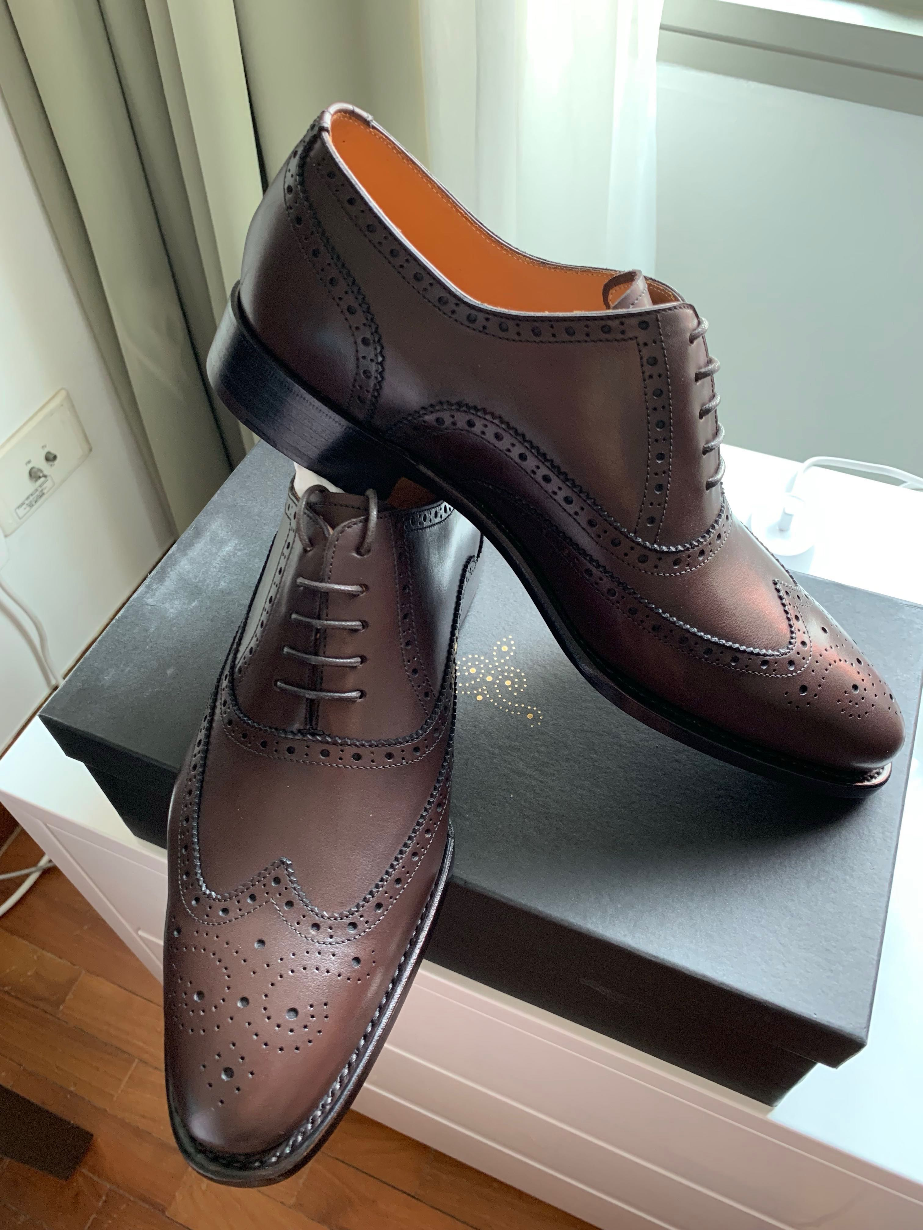d8c3f1db95f New Ed Et Al MTO Oxford Wingtip Goodyear Welted UK 6.5