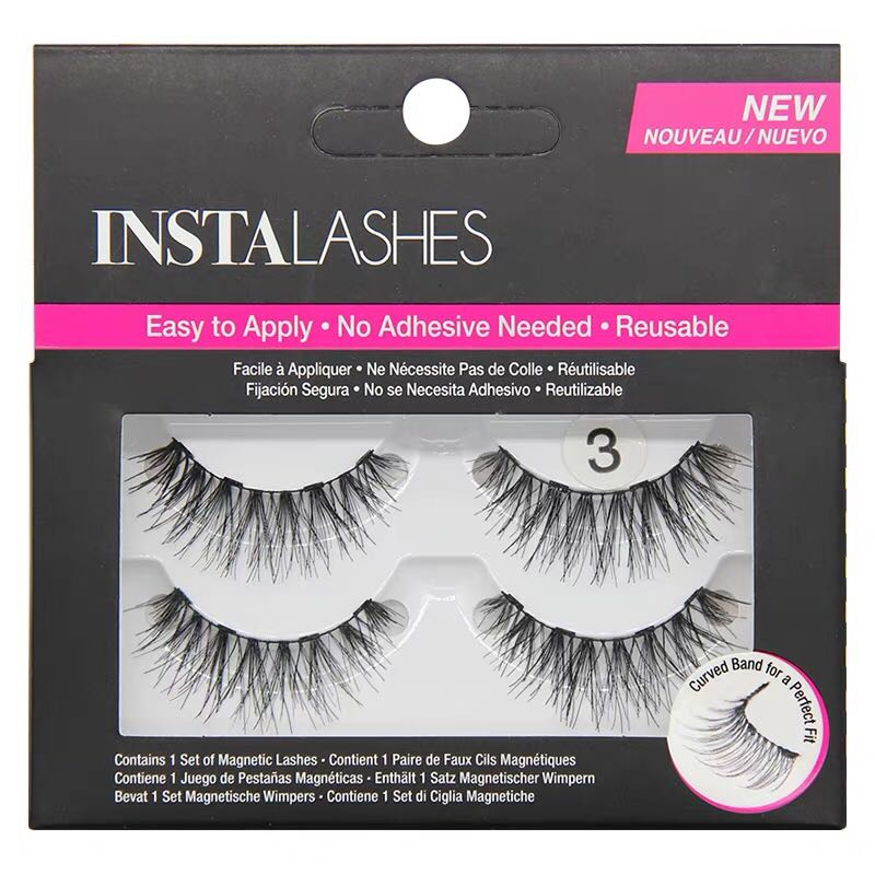 d0a713b4f13 New HOT Magnetic Lashes Reusable 3D False Eyelashes Magnetic ...