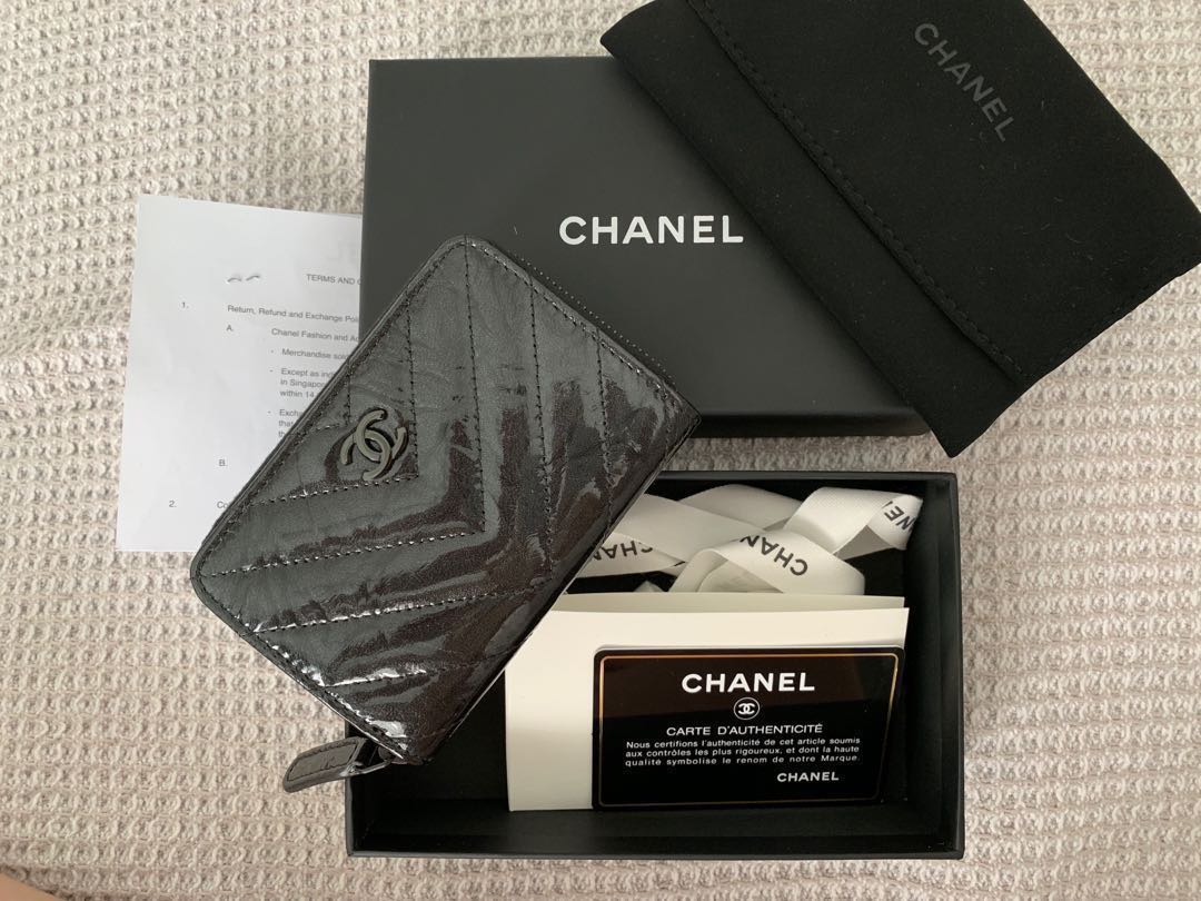 389de02bada831 FULL SET WITH RECEIPT Chanel SO Black Wallet Card holder Coin Purse,  Women's Fashion, Bags & Wallets, Wallets on Carousell