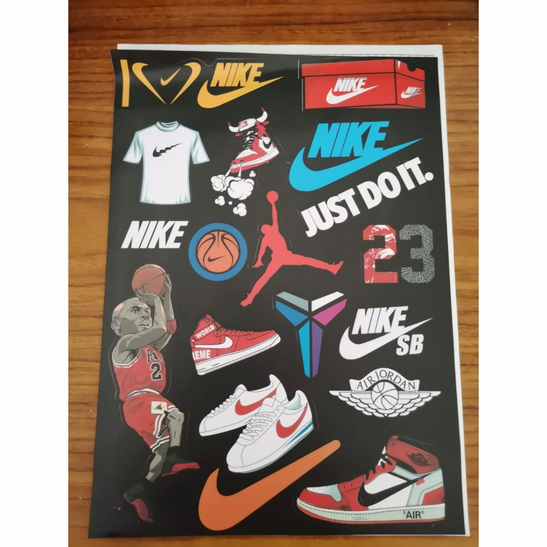 get cheap amazing selection free shipping Nike Off-White, Air Jordan, SB, Cortez, Kobe Mamba Stickers #Rayathon50