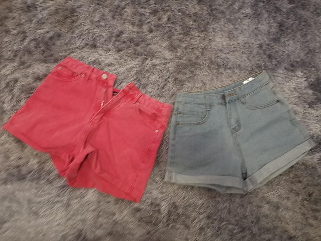 Pink size 8 blue size 6