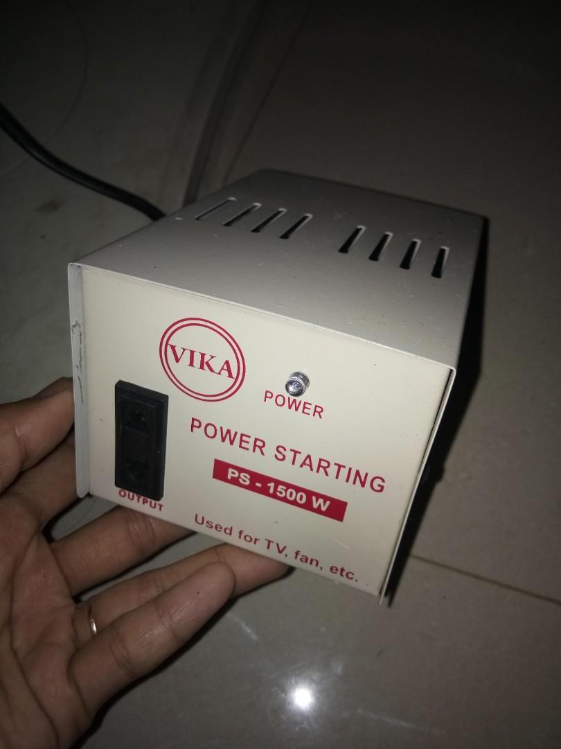 Power starting merk vika blm pernah pake belinya doang