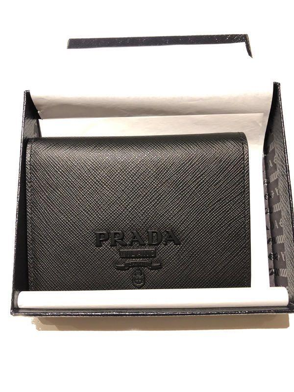 58d4ecfa Prada Bifold Wallet, Luxury, Bags & Wallets, Wallets on Carousell