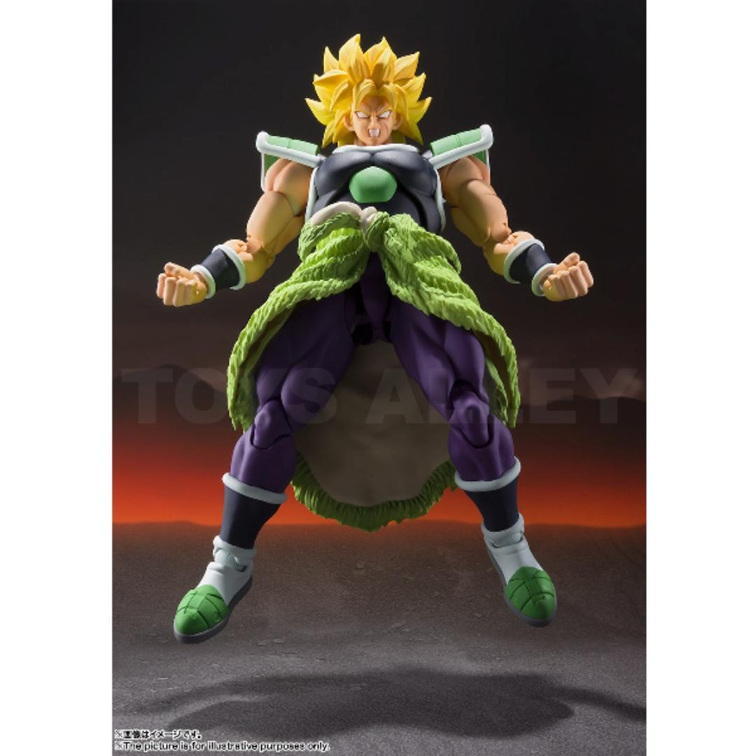 [Preorder] S.H.Figuarts SHF Broly Dragonball Super Version ASIA