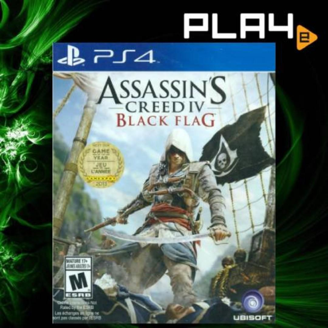 Ps4 Assassin S Creed Iv Black Flag Brand New Toys Games Video