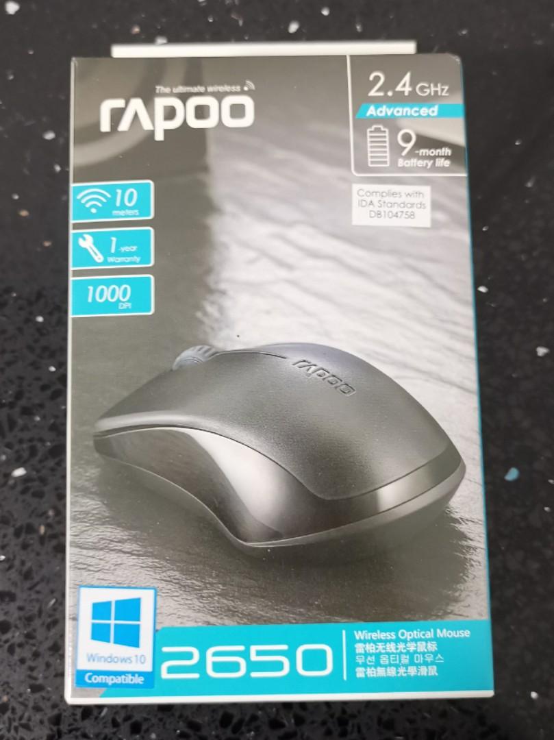4089ea171c1 Rapoo 2650 Wireless Mouse, Electronics, Computer Parts & Accessories ...