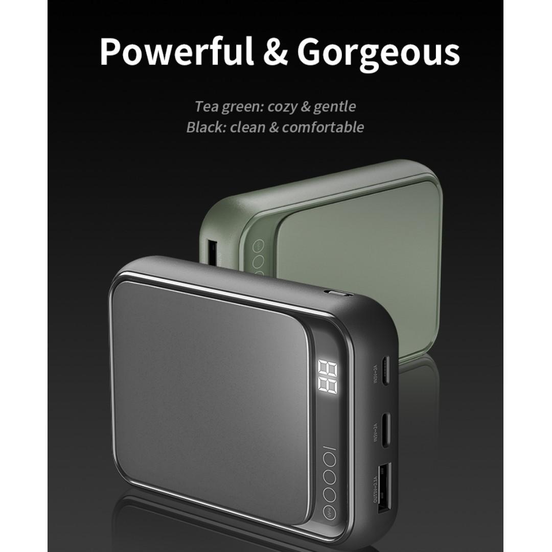 ROCK P63 Mini Digital Display 10000mAh Power Bank