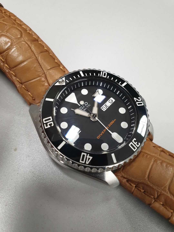 Skx Submariner Bezel