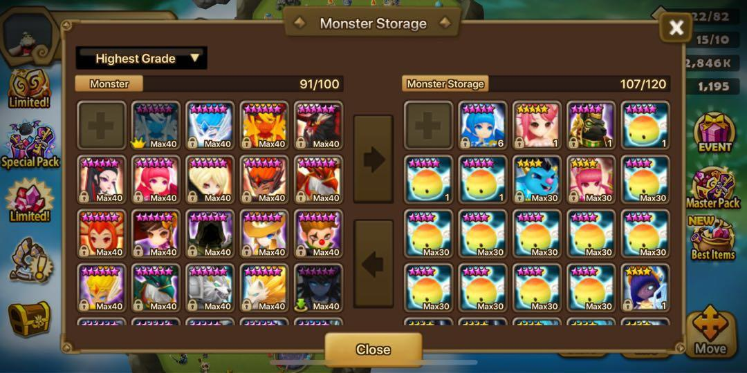 Summoner war quitting, Toys & Games, Video Gaming, Video