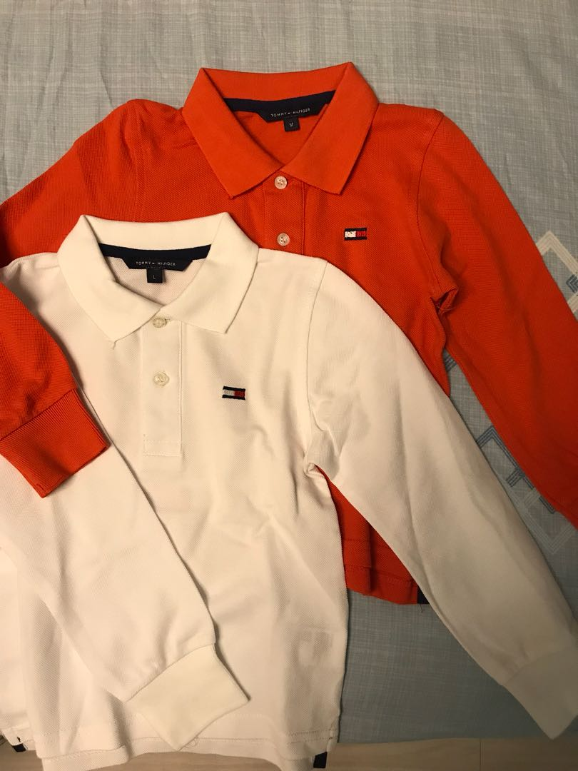 c6eef3ddb Tommy Hilfiger Long sleeve polo tee