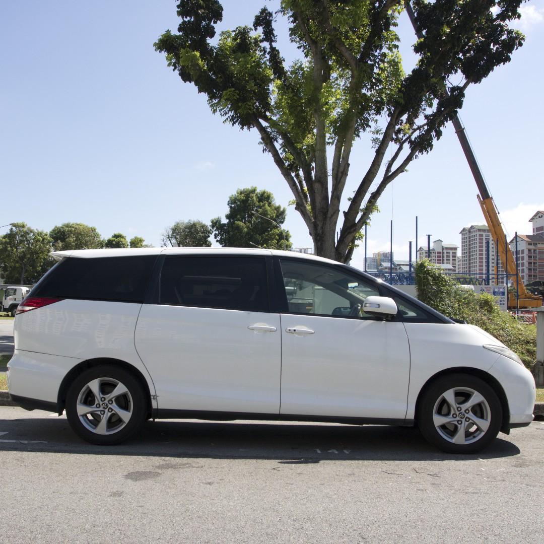 Toyota Estima 7 Seater For Rent