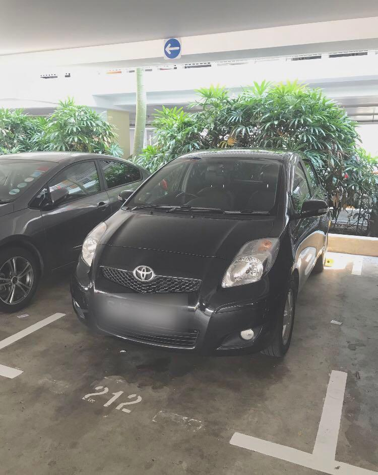 Toyota Yaris car for rent